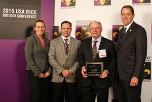 Rice Farmer of the Year honoree Jerry Hoskyn