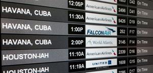 Flights depature board