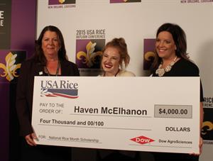 Grand prize winner Haven McElhanon
