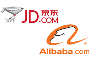 JD Alibaba Logos
