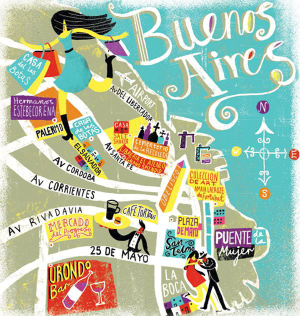 Buenos Aires-travel-poster