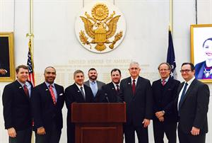 2016 International Class at US Embassy in London