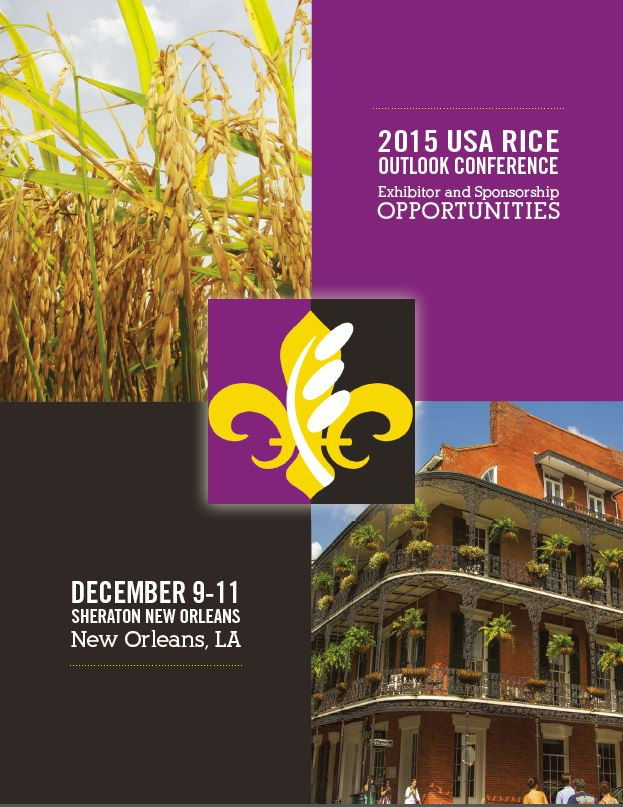 2015 USA Rice Outlook Conference to Feature Political Duo