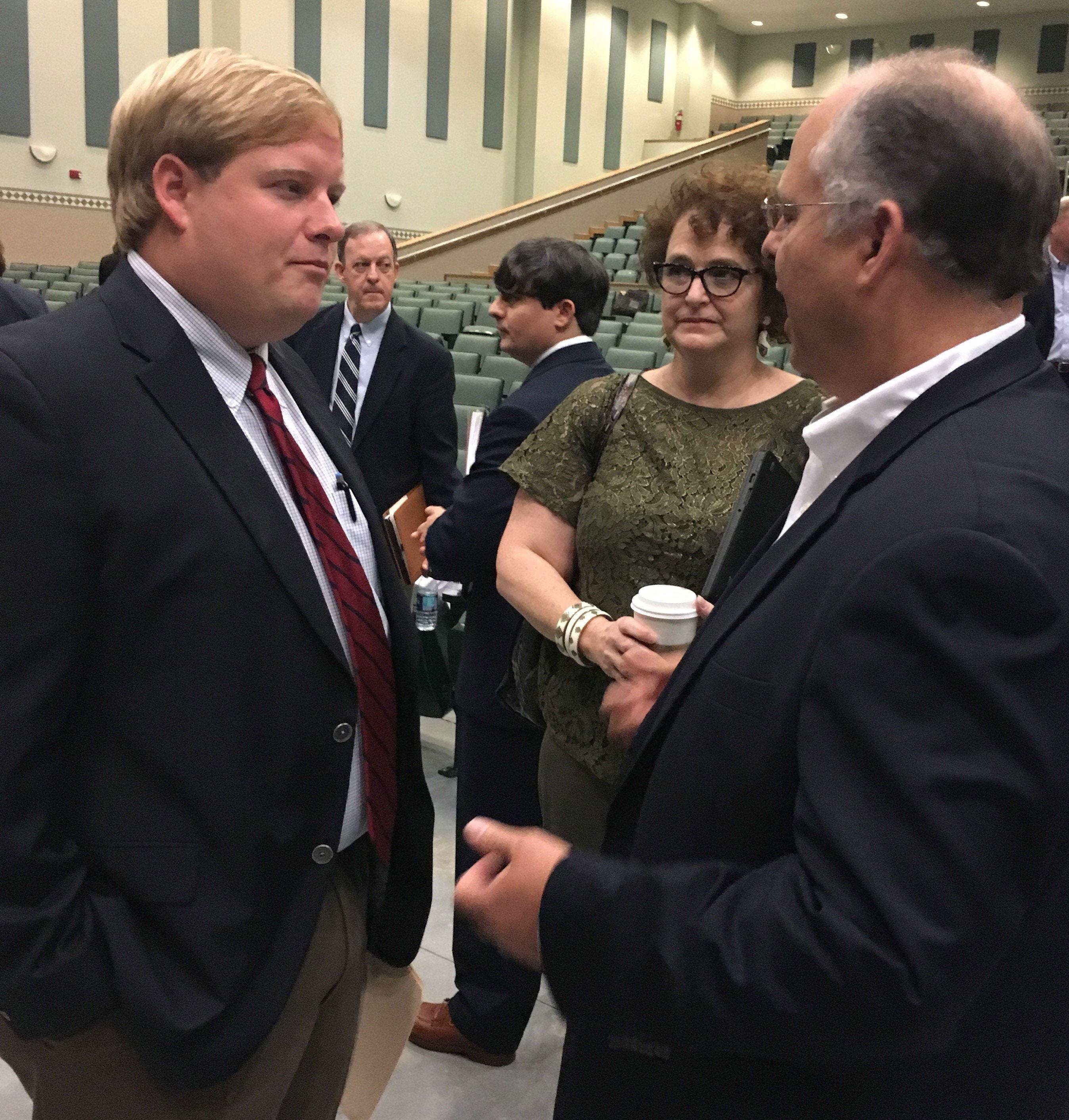 LA-Farm-Bill-Listening-Session 2017, Scott Franklin talking with legislators
